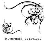 decorative design element | Shutterstock .eps vector #111241382