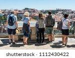 lisbon  portugal   may 19  2017 ... | Shutterstock . vector #1112430422