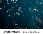 bokeh of lights with black... | Shutterstock . vector #1112438012