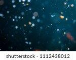 bokeh of lights with black... | Shutterstock . vector #1112438012