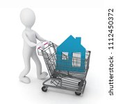 3d man   buyer  bought the... | Shutterstock . vector #1112450372