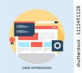 website coding   code... | Shutterstock .eps vector #1112451128