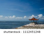 tourism and recreation at bali  ... | Shutterstock . vector #1112451248