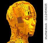 3d rendering  robotics and... | Shutterstock . vector #1112454035
