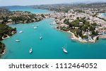 aerial drone bird's eye view... | Shutterstock . vector #1112464052