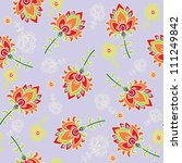 floral seamless pattern | Shutterstock .eps vector #111249842