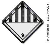 miscellaneous dangerous... | Shutterstock . vector #1112499275