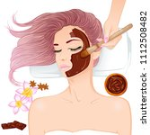 spa procedures and cosmetology. ... | Shutterstock .eps vector #1112508482