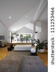 interior design  modern living... | Shutterstock . vector #111253466