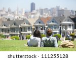 San Francisco   Alamo Square...