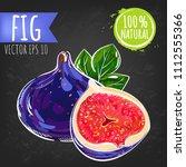 fig. fresh fruit bright sketch...   Shutterstock .eps vector #1112555366