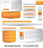 web designing element | Shutterstock .eps vector #111260132