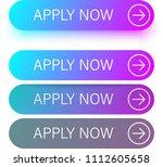 blue and purple spectrum apply...   Shutterstock .eps vector #1112605658