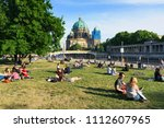 berlin  germany   may 25  2018  ... | Shutterstock . vector #1112607965