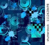 abstract seamless sport pattern ... | Shutterstock . vector #1112628698