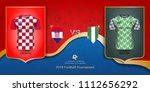 football cup 2018 world... | Shutterstock .eps vector #1112656292