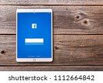 uzhgorod  ukraine   june 14 ... | Shutterstock . vector #1112664842