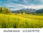 beautiful view of idyllic... | Shutterstock . vector #1112670752