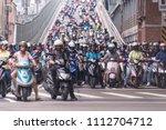 taipei  taiwan   june 13  2018  ... | Shutterstock . vector #1112704712