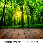 wood textured backgrounds in a... | Shutterstock . vector #111274775
