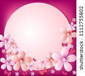 vector abstract illustration.... | Shutterstock .eps vector #1112755802