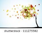autumn background  eps10   Shutterstock .eps vector #111275582
