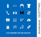 modern  simple vector icon set... | Shutterstock .eps vector #1112777402