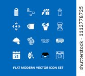 modern  simple vector icon set... | Shutterstock .eps vector #1112778725