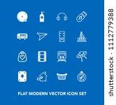 modern  simple vector icon set... | Shutterstock .eps vector #1112779388