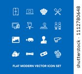 modern  simple vector icon set... | Shutterstock .eps vector #1112780648