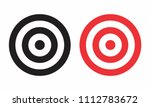 illustration of targets... | Shutterstock . vector #1112783672
