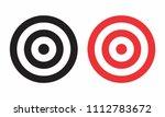 illustration of targets... | Shutterstock . vector #1112783672