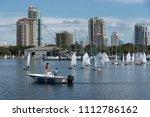 south yacht basin  st.... | Shutterstock . vector #1112786162