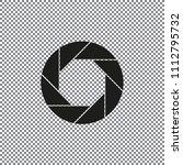 aperture  camera lens symbol | Shutterstock .eps vector #1112795732