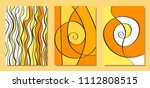 abstract african backgrounds... | Shutterstock .eps vector #1112808515
