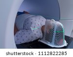 woman receiving radiation...   Shutterstock . vector #1112822285