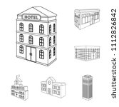 building and architecture... | Shutterstock .eps vector #1112826842