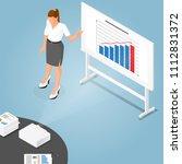 isometric presentation... | Shutterstock .eps vector #1112831372