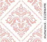 orient vector classic pink...   Shutterstock .eps vector #1112846498