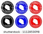 tanzania   rubber stamp  ... | Shutterstock .eps vector #1112853098