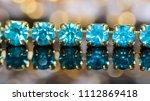 close up of green blue gem... | Shutterstock . vector #1112869418