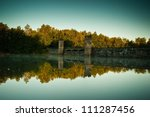 dam of landscape | Shutterstock . vector #111287456