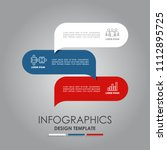 infographic template. vector...   Shutterstock .eps vector #1112895725