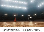 basketball court. sports arena.  | Shutterstock . vector #1112907092