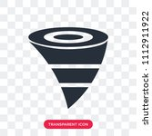 tornado vector icon isolated on ...   Shutterstock .eps vector #1112911922