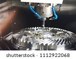 milling machine with tubes for... | Shutterstock . vector #1112922068