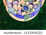 close up of a piece of cake on... | Shutterstock . vector #1112924222