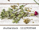 Fresh And Dry Marjoraml Herbs...