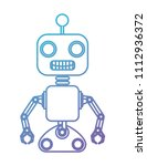 robot machine isolated icon | Shutterstock .eps vector #1112936372