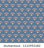 seamless decorative pattern...   Shutterstock .eps vector #1112952182